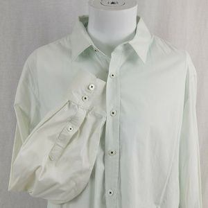 7 Diamonds XL Collared Embroidered Dress Shirt
